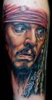 jack sparrow by tat2istcecil