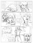 Niara Lumin Comic page (2011) by La-Nora