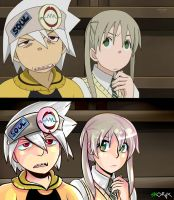 Soul Eater - Screencap redraw! by Skoryx
