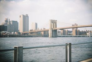 Brooklyn in Color: East River, II by neuroplasticcreative