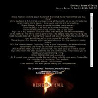 Resident Evil 5 Journal by thatfire-stock