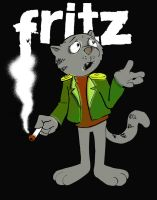 Fritz the Cat by SketcherX1981