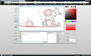 Al wip on iscribble by Disimprison