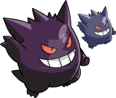 094 - Gengar - art v.2 by Tails19950