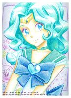 Crayola Crayon Sailor Neptune by Lemia