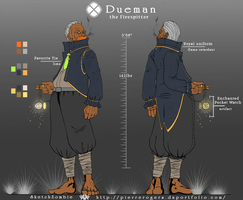 Dueman: the Firespitter by PierreRogers