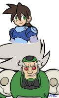 Rock and Teisel busts by rongs1234
