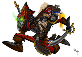 Singed Pirate by Billyib