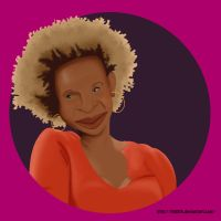 Wanda Sykes caricature by th55th