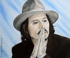 Johnny Depp - June 2006 by shaman-art