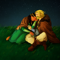 Hurin and Morwen by jubah