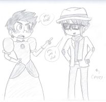 OTP Challenge- 15.In a Different Clothing Style by drefeno