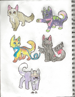 Kittens :D by Larkflame