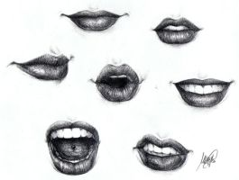 Lips by maga-a7x