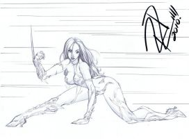 Witchblade commission 5 by Xenomrph