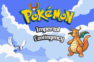 Pokemon Imperial Contingency Title Screen Concept by EdensElite