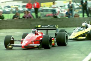 G. Berger | A. Nannini (Great Britain 1987) by F1-history