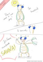 Optimistic Turtle on weather by solray-chan