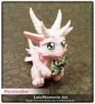 Marshmallow Dragon by LuisMonterieArt