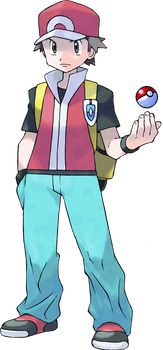 Pokemon Trainer Red by superfoxdeer