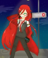 Grell Sutcliff by UndergroundCaptain