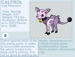 Calfrol fakemon by byona