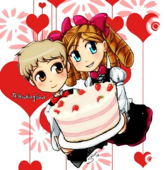 Harvest Moon- Carl and Katie by Sanoshi