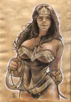 Wonder woman by huy-truong