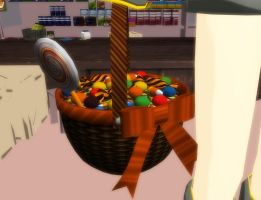 MMD Candy basket download by 9844