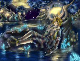 Tidus Macalania Spring by powerswithin