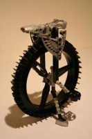 Bionicle MOC: Unicycle by Rahiden