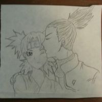Temari and Shikamaru by sydgirl97