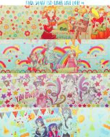 PACK SHARE PSD COVER LoveLive! #1 by MyaoCucheoo2k4