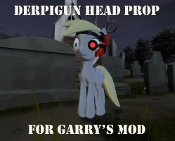 Derpigun Head Prop - Available for Garry's Mod by Optimus97