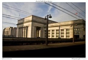Amtrak 30th Street Station by yellowcaseartist