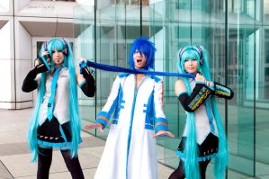 Vocaloid family 01 by YumiCosplay