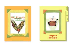 cookbook cover+divider sample by thecymbalwench