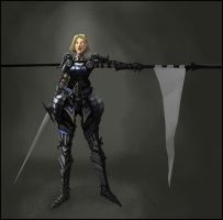 Jeanne d'Arc by DrawingNightmare