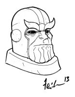 Thanos by Tom Feister by IamSpeck