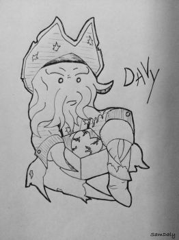 Davy Jones  by SamDaly