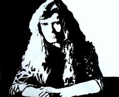 Dave Mustaine by Dragon-963