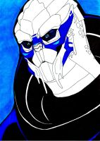 Garrus by EquilibriumArts