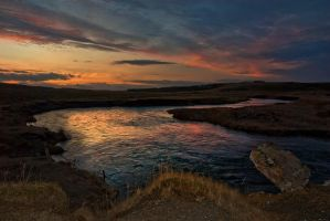 Iceland-just a vanilla sky by PatiMakowska
