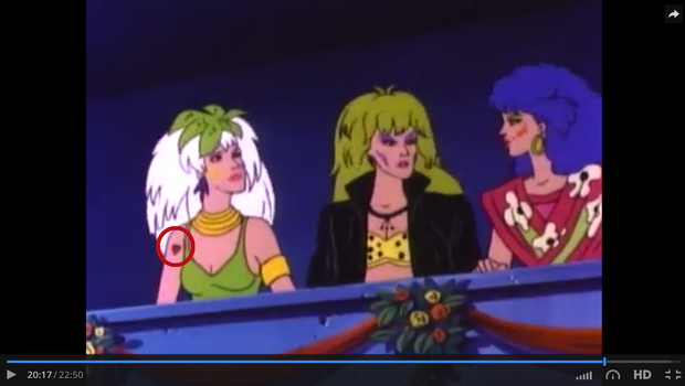 wait what Roxy has a tattoo by bellablossomyoutube