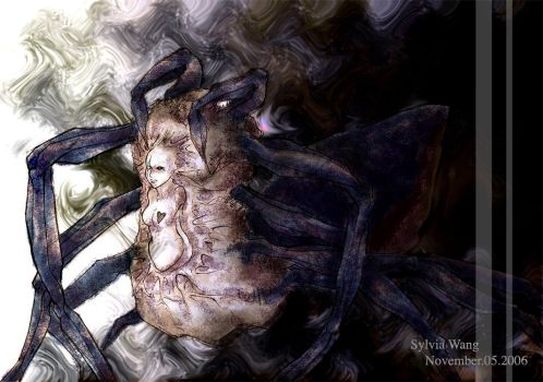 Spider Demon by cyrine