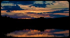 The Swedish Sunset by Flaeger