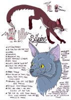 Silpine species sheet by modifiedMONSTER