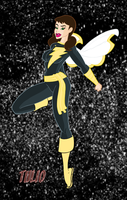Black Mary Marvel by TULIO19mx