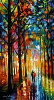 ---DARK RAIN--- by Leonidafremov