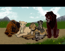 Family time by RoughLady